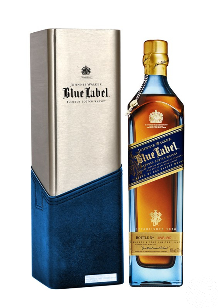 johnnie walker blue label porsche edition 750ml whiskybank. Black Bedroom Furniture Sets. Home Design Ideas