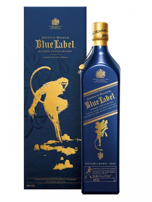 Blue label monkey 1 litre
